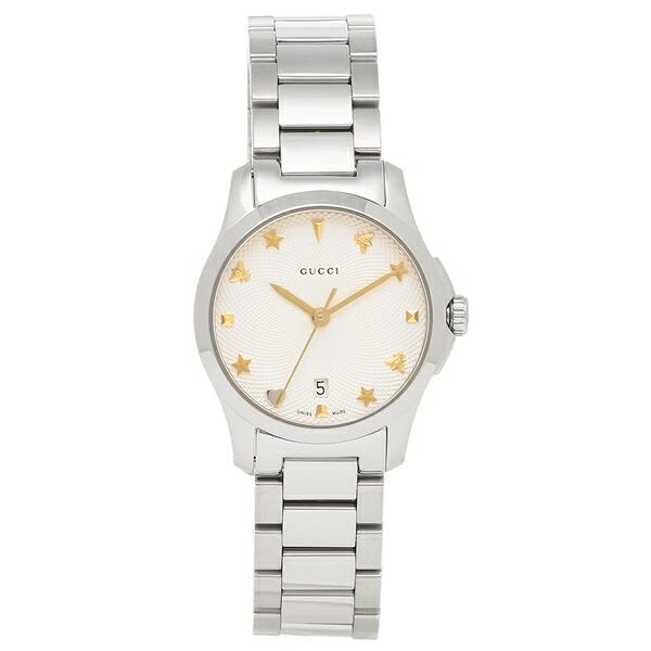 【返品OK】グッチ 腕時計 レディース GUCCI YA126572 シルバー