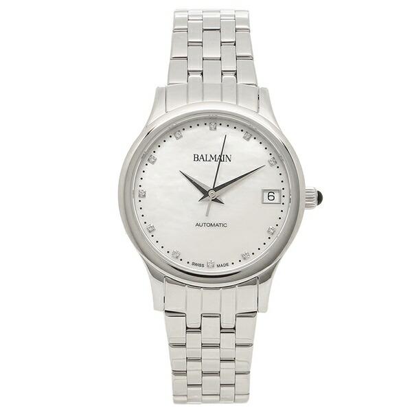 【6時間限定ポイント10倍】【返品OK】バルマン 腕時計 自動巻き レディース BALMAIN B3991.33.86 パール