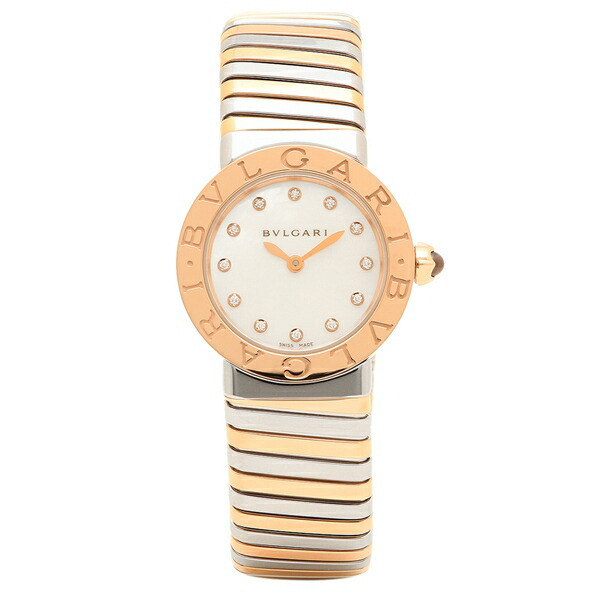 一流の品質 BVLGARI 腕時計 レディース ブルガリ BBL262TWSPG/12.M BBL262TWSPG/12.M ホワイト ホワイト ピンクゴールド レディース シルバー, キタウワグン:f01871f6 --- greencard.progsite.com