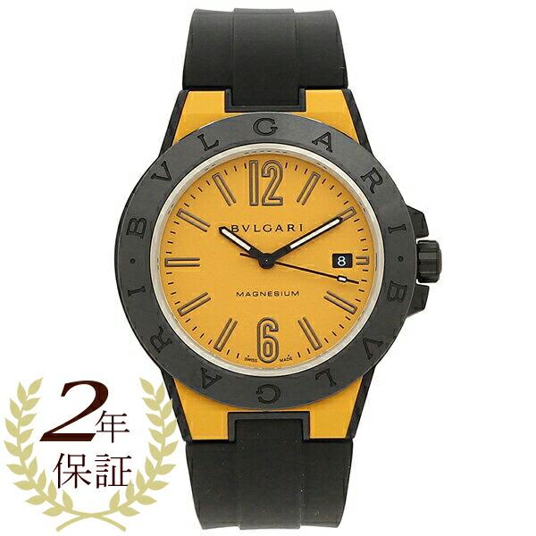 BVLGARI 腕時計 メンズ 自動巻き ブルガリ DG41C10SMCVD イエロー ブラック