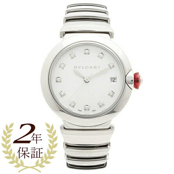 【6時間限定ポイント10倍】ブルガリ 腕時計 レディース 自動巻き BVLGARI LU36WSSD/11 シルバー