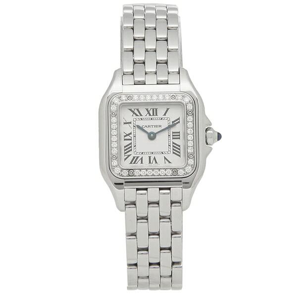 CARTIER 腕時計 レディース カルティエ W4PN0007 シルバー
