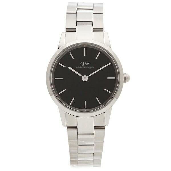 高質で安価 【4時間限定ポイント10倍】 ブラック【返品OK】ダニエルウェリントン 腕時計 レディース Daniel Wellington DW00600208 シルバー 腕時計 シルバー ブラック, スワンアンティークス:98e821dc --- rishitms.com