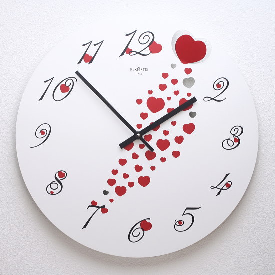 イタリア製デザイン掛け時計PASSION