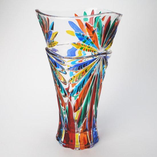 イタリア製ガラス花瓶 ZECCHIN OASIS