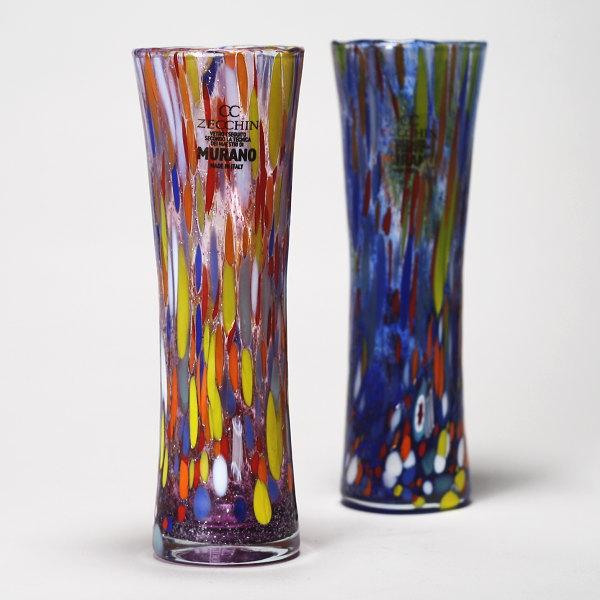 ヴェネチアガラス花瓶 ZECCHIN CASANOVA