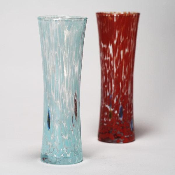 ヴェネチアガラス花瓶 ZECCHIN MACCHIE