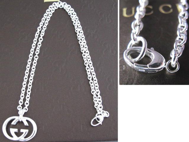 Cuore Gucci Gucci Interlocking G Necklace 190484 J8400