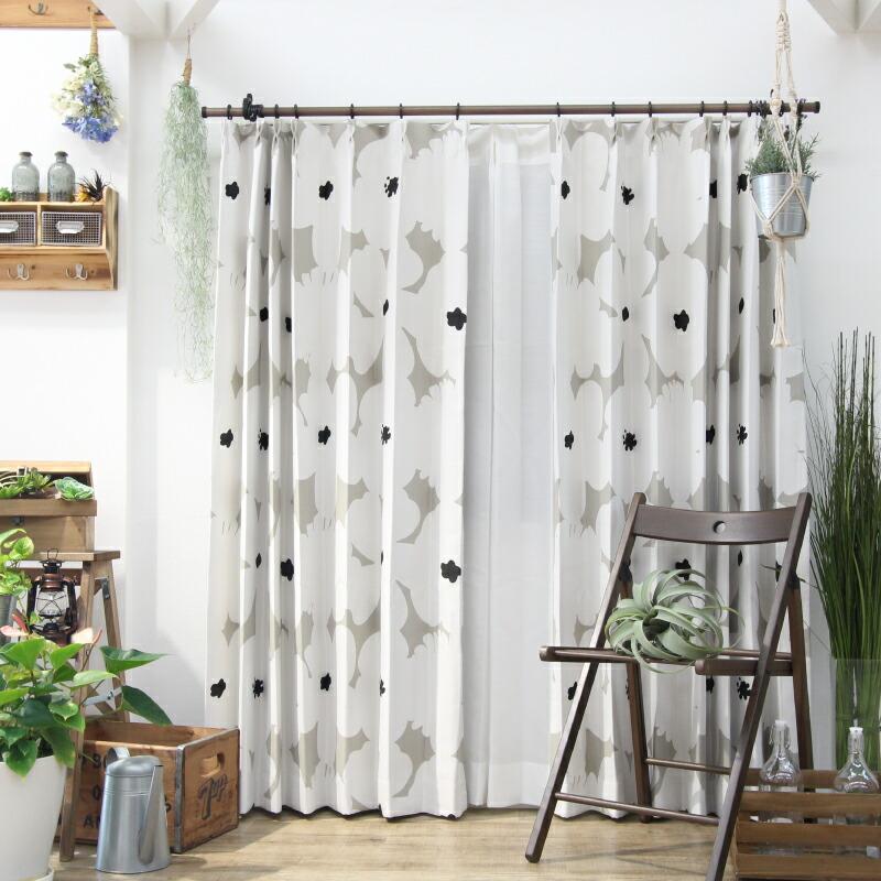 お部屋の印象が変わるような北欧柄のカーテンのおすすめを教えてください。