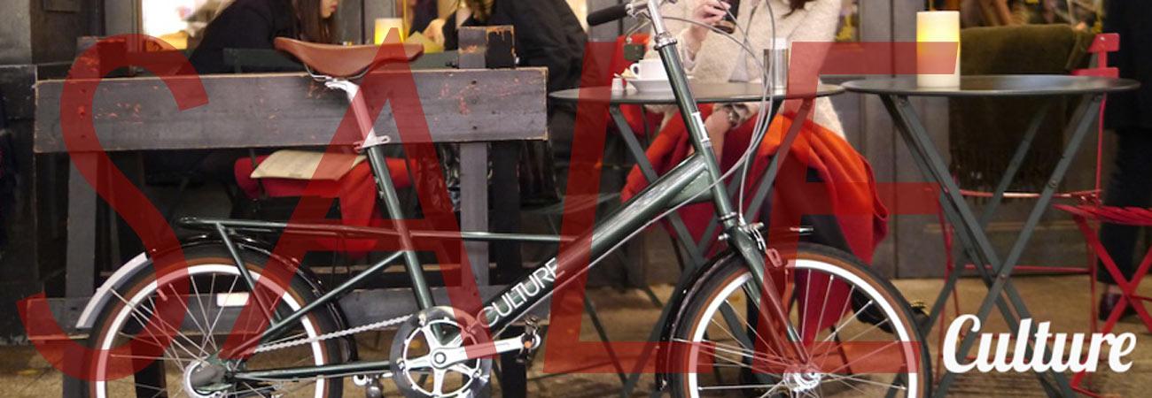 culture特価自転車ミニベロ