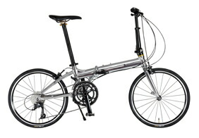 自転車 配送先一都三県一部地域限定送料無料 折りたたみ自転車 RENAULT PLATINUM MACH 9 シルバー 20インチ 18段変速ギア プラチナマッハ 9 折りたたみ 通販 おしゃれ