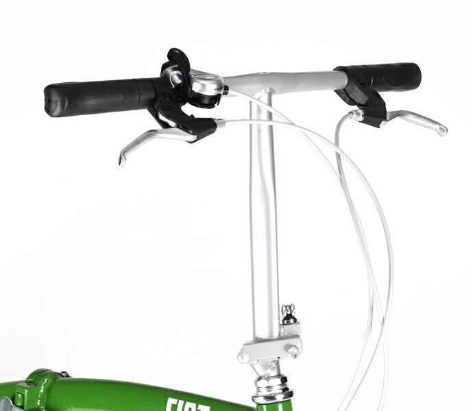 自転車 配送先一都三県一部地域限定送料無料 折りたたみ FIAT AL-FDB 207 V レッド 20インチ 7段変速ギア フィアット 折りたたみ自転車 軽量 フォールディングバイク