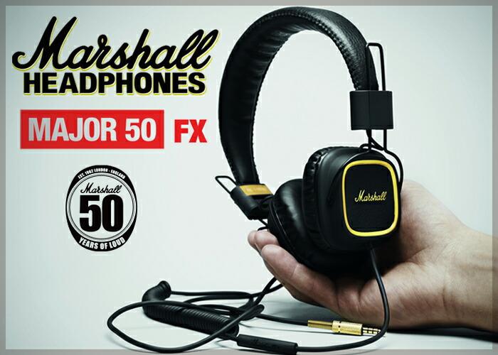 マーシャル ヘッドフォン 50FX