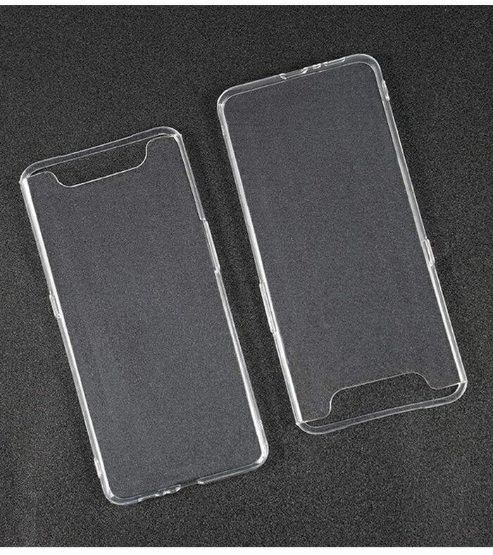 ソフトケース Galaxy A80 クリア Samsung GalaxyA80 海外版 ストラップホール 薄型 軽量 スマホケース TPU SIMフリー 背面カバー ギャラクシー 透明 ソフトカバー 背面ケース 背面保護カバー 送料無料