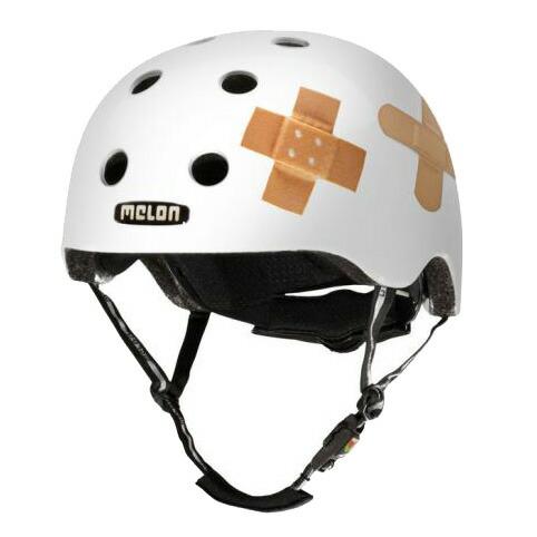 メロンヘルメット Plastered White プラスターホワイト