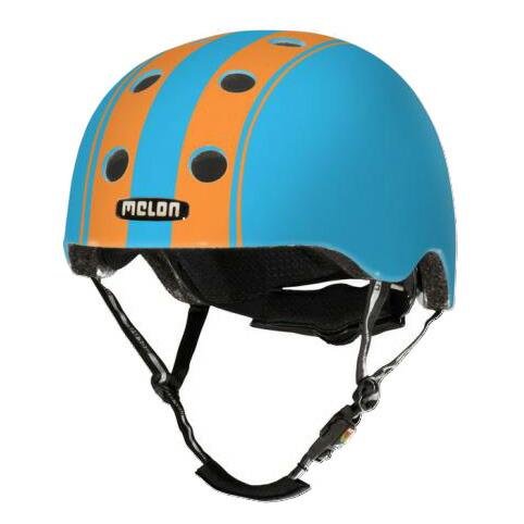 メロンヘルメット ダブルオレンジブルー