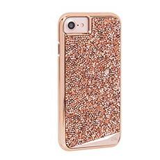 iPhone7 ケース 6s 6 カバー Case-Mate ケースメート 耐衝撃 高級感 水晶 Brilliance Case Rose Gold ブリリアンス ケース ローズゴールド