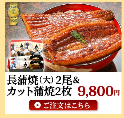 長蒲焼大+カット蒲焼