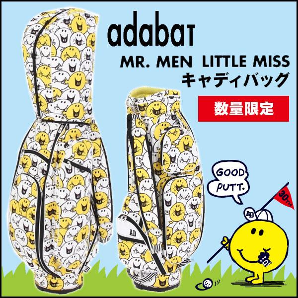 【数量限定】アダバット×ミスターメンリトルミス キャディバッグ 8.5型 Adabat×MR.MEN LITTLE MISS