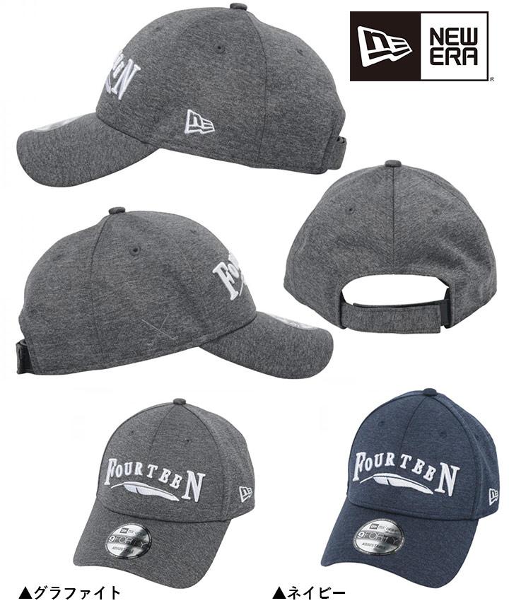 フォーティーン 限定 ニューエラ Wネーム キャップ 帽子 940 TECH