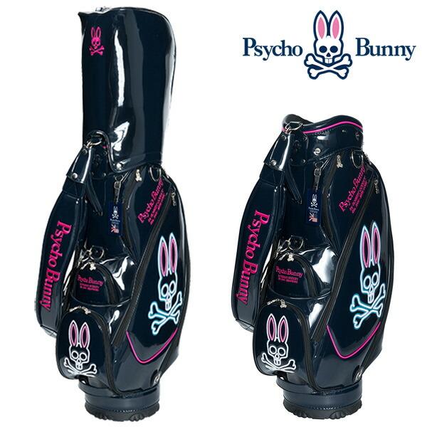 【楽天市場】サイコバニー キャディバッグ ネオン 9型Psycho Bunny ...