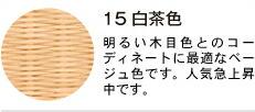 15 白茶色