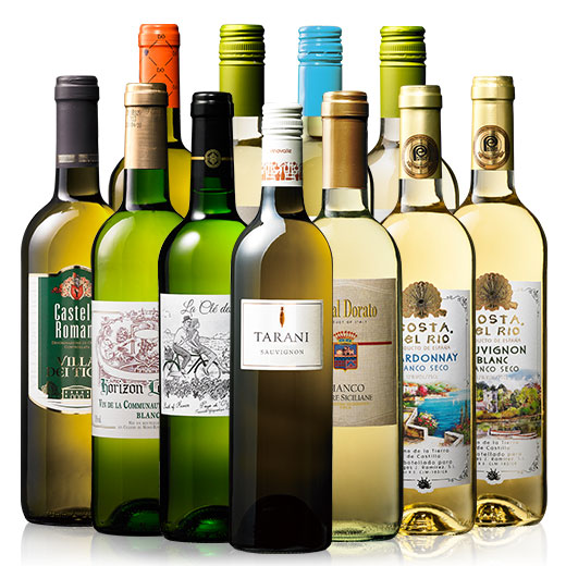 世界選りすぐり白ワイン11本セット