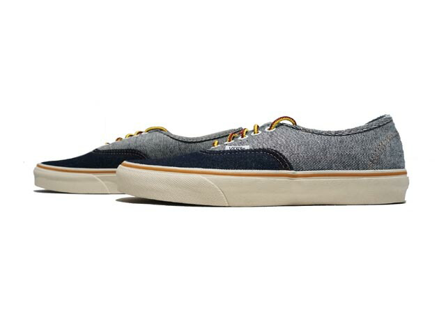 5f1d8662d8e23e CREW Vans for J.Crew two-tone denim authentic sneakers now available!
