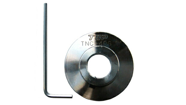 トップ TOP 塩ビ管用内径カッター用ガイド板 TNC-40G [A100414]