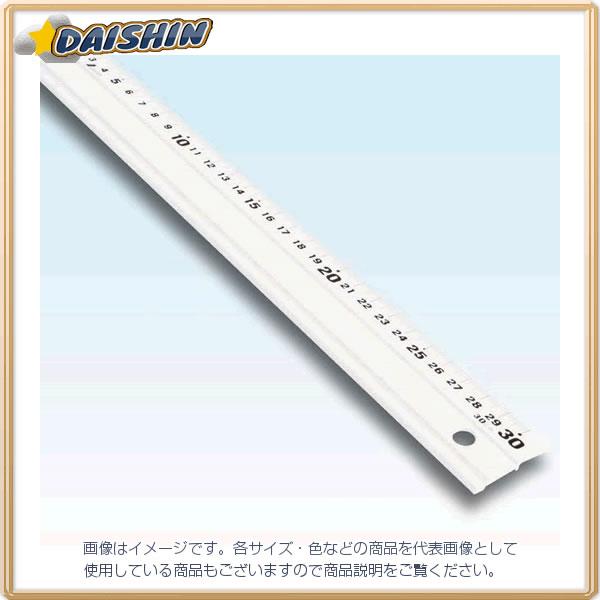 シンワ測定 アルミ直尺 アル助 30cm ホワイト No.65418 [A030113]
