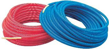 カクダイ KAKUDAI  サヤ管つき架橋ポリエチレン管(赤)10Ax22 #672-131-50R [A150501]