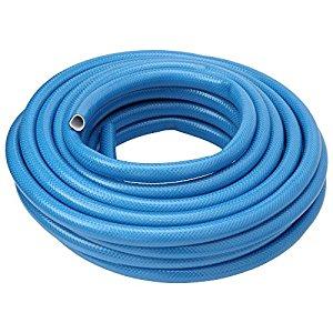 アイリスオーヤマ IRIS 耐圧糸入りカットホース ブルー 15m [B020202]