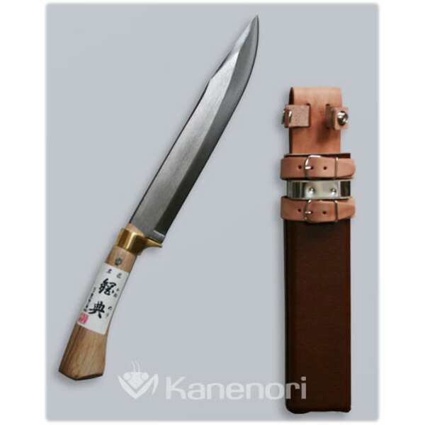 五十嵐刃物 240mm 鋼付 山鉈 鍔付コブ柄 和釘 C-30 [B050800]