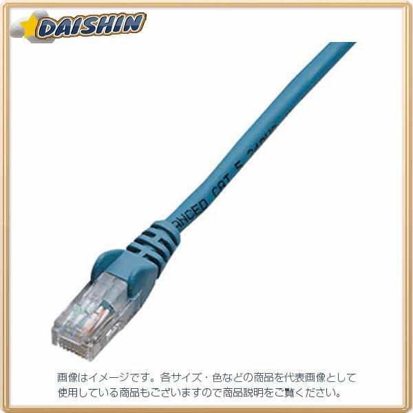 ジェフコム ネットワークパッチケーブル LCAT5E-S03BL [F040215]