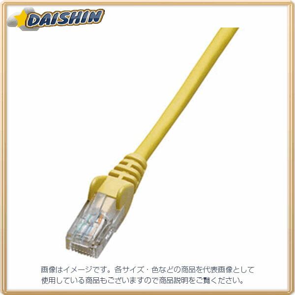 ジェフコム ネットワークパッチケーブル LCAT5E-S03YL [F040215]