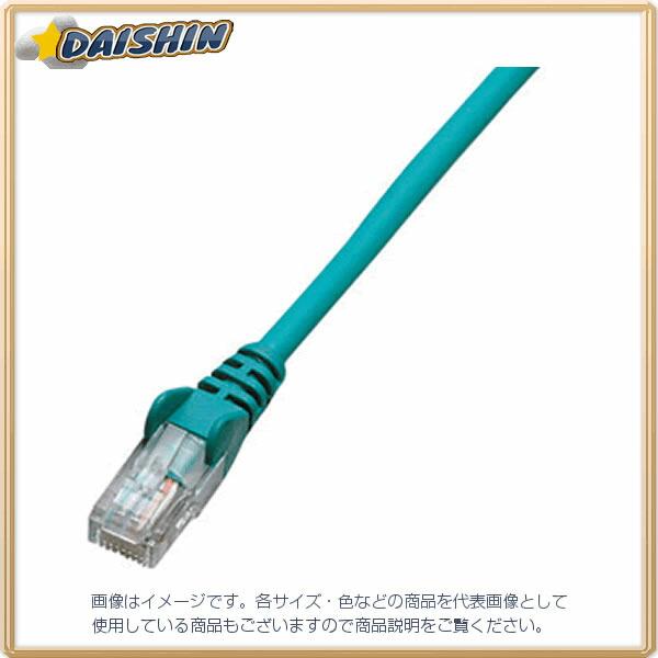 ジェフコム ネットワークパッチケーブル LCAT5E-S05GN [F040215]
