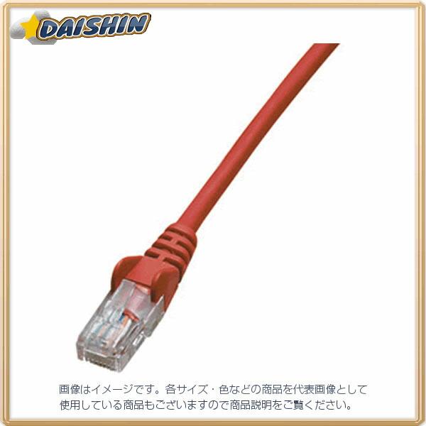 ジェフコム ネットワークパッチケーブル LCAT5E-S10RD [F040215]