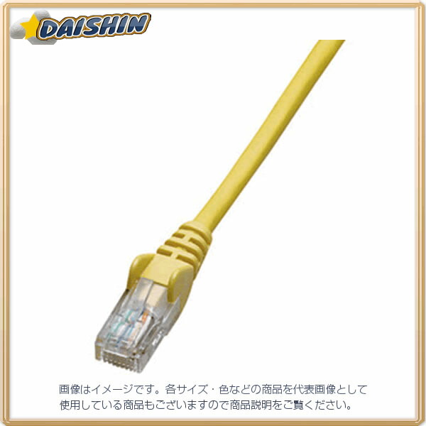 ジェフコム ネットワークパッチケーブル LCAT5E-S15YL [F040215]