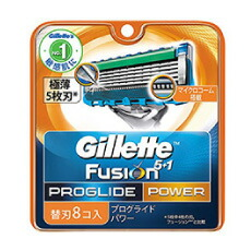 P&G ジレット フュージョンプログライドパワー5+1 (替刃8コ入)