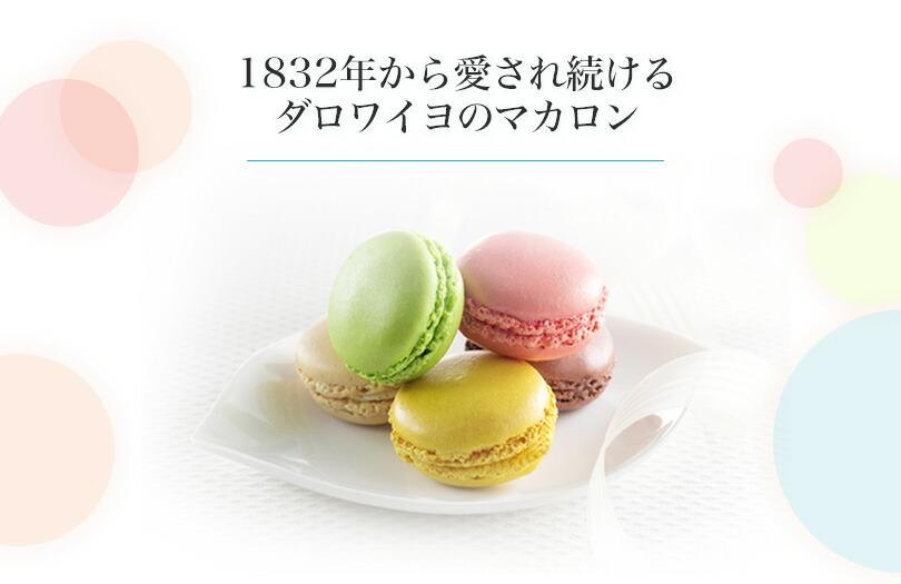 ダロワイヨ 季節のマカロン入り詰め合わせ(18個入)