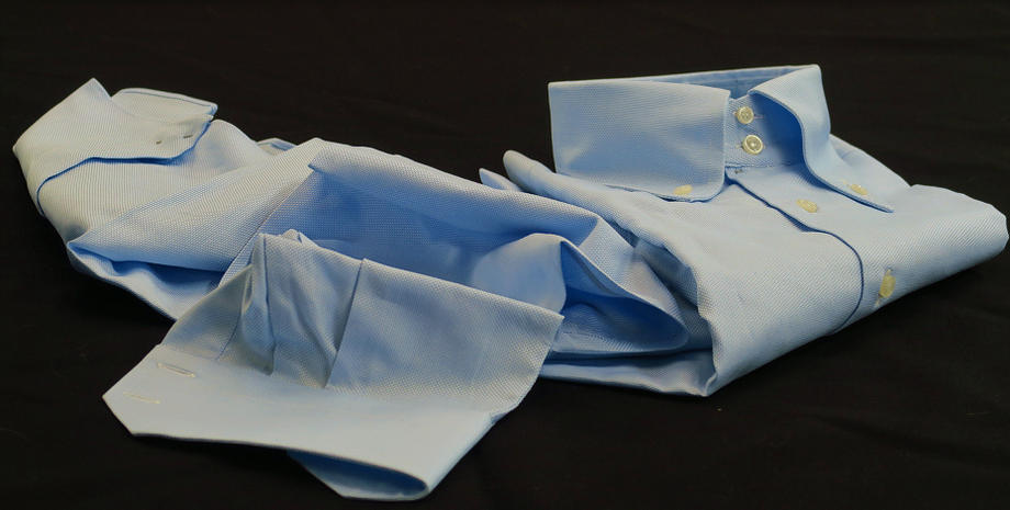 ★Store specializing in Italian shirts DAN ROMA direct import ドゥエボットーニシャツ  SIRIO CELESTE_0000_326