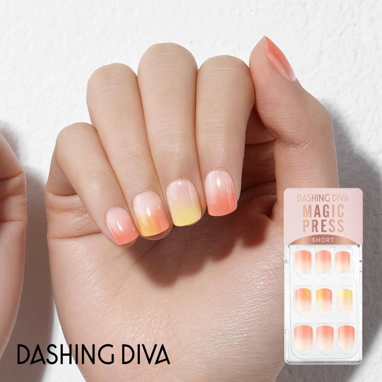 ダッシングディバマジックプレス/Coral Peach Ade
