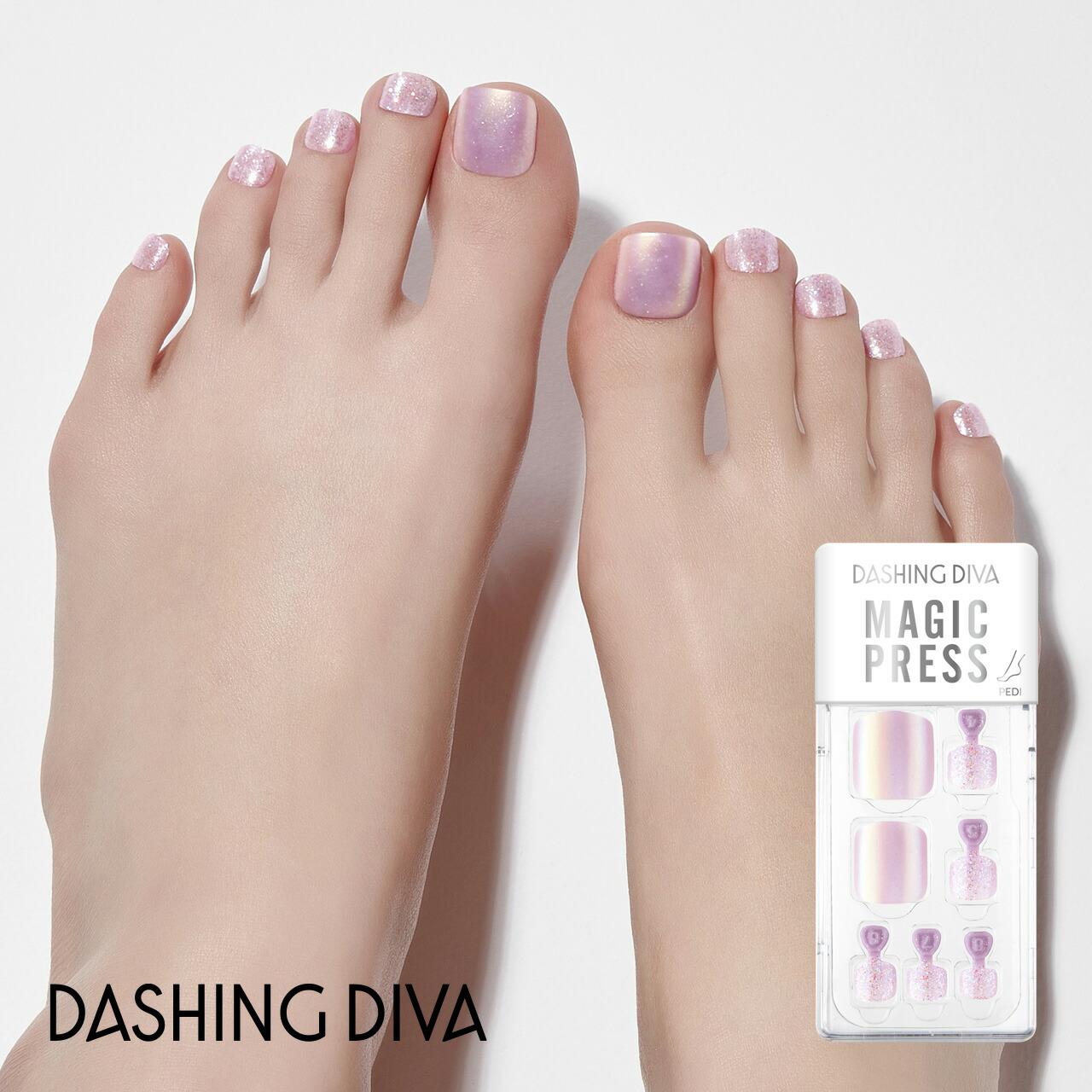 ダッシングディバマジックプレス/Milky Purple Shine