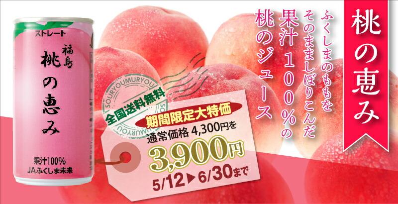 桃の恵み 30缶入り