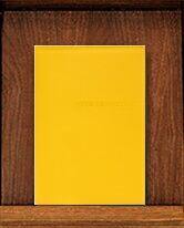 ディアカーズ革カバー5年連用日記 レッド