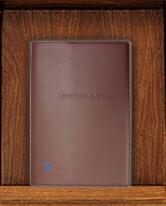 ディアカーズ 革カバー5年日記-アルファベット刺繍