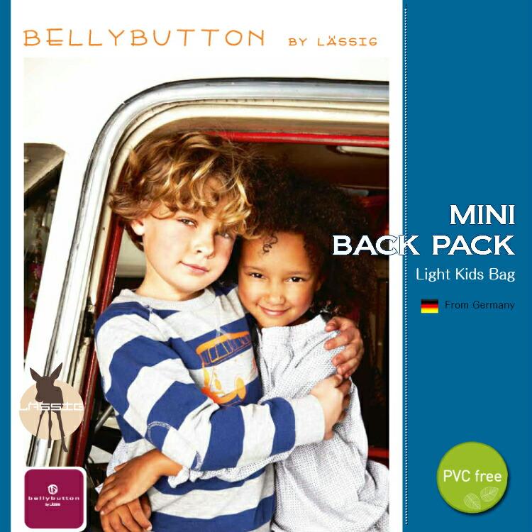レッシグ×bellybutton ベリーボタン ミニバックパック PVC free