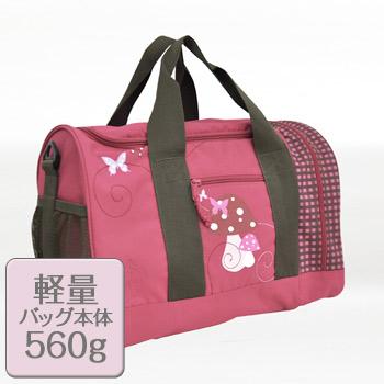 レッシグ子供用スポーツバッグは軽量バッグ本体560g