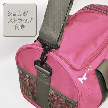 レッシグ子供用スポーツバッグは斜め掛けで両手が空いて楽々