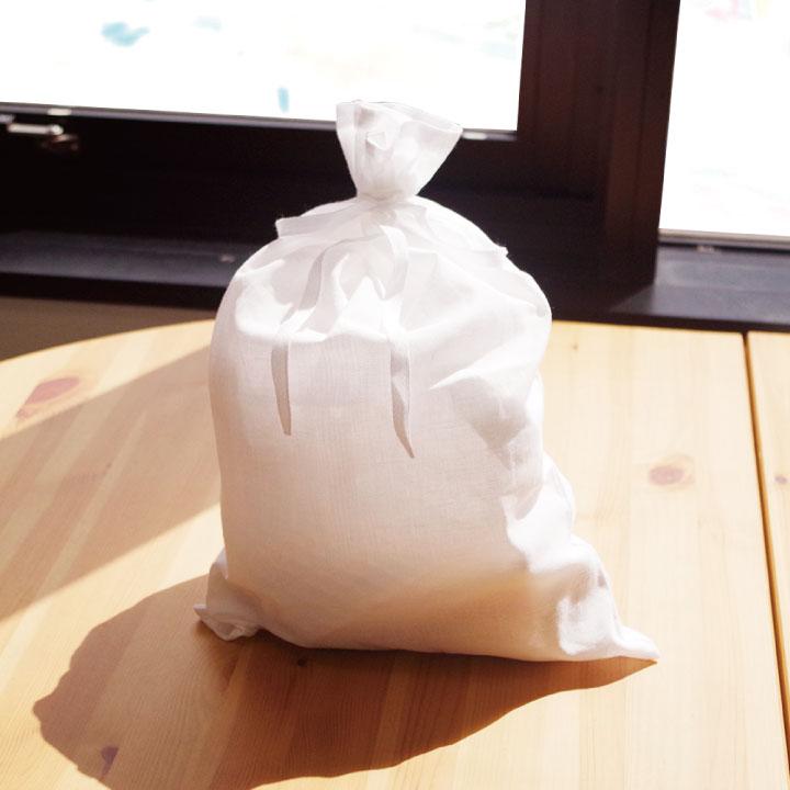 大事な方をお納めするのにふさわしい国産・綿100%の納骨袋